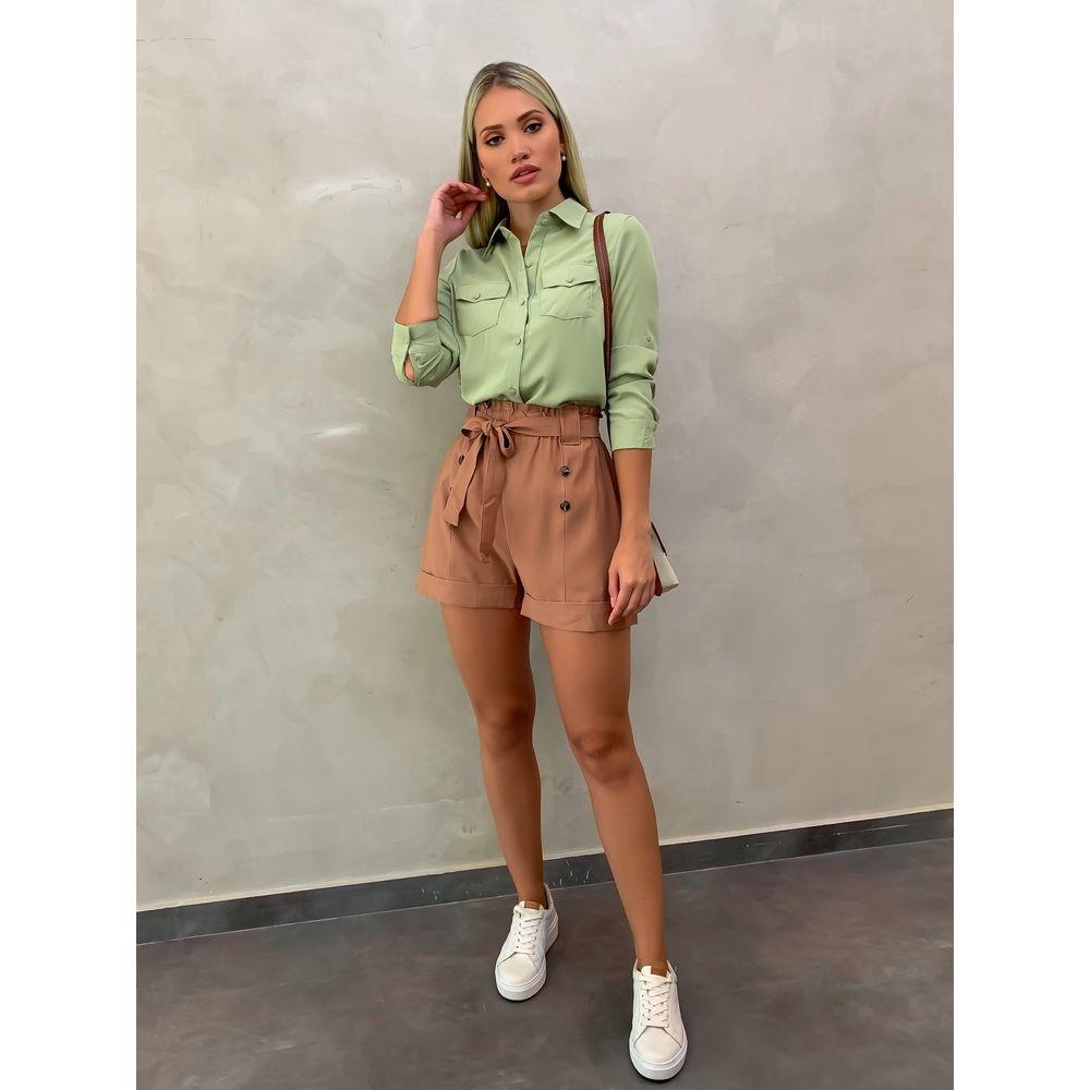 Shorts-Sandra-Camel