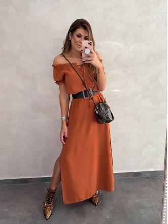 Vestido-Longo-Style-Raphaela-Telha