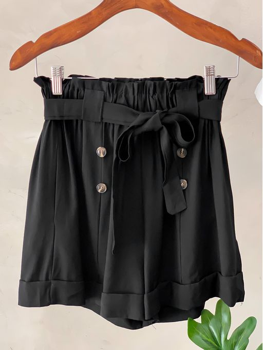 Shorts-Sandra-Black