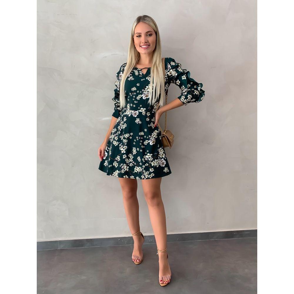 Vestido-Floral-Monique-Verde