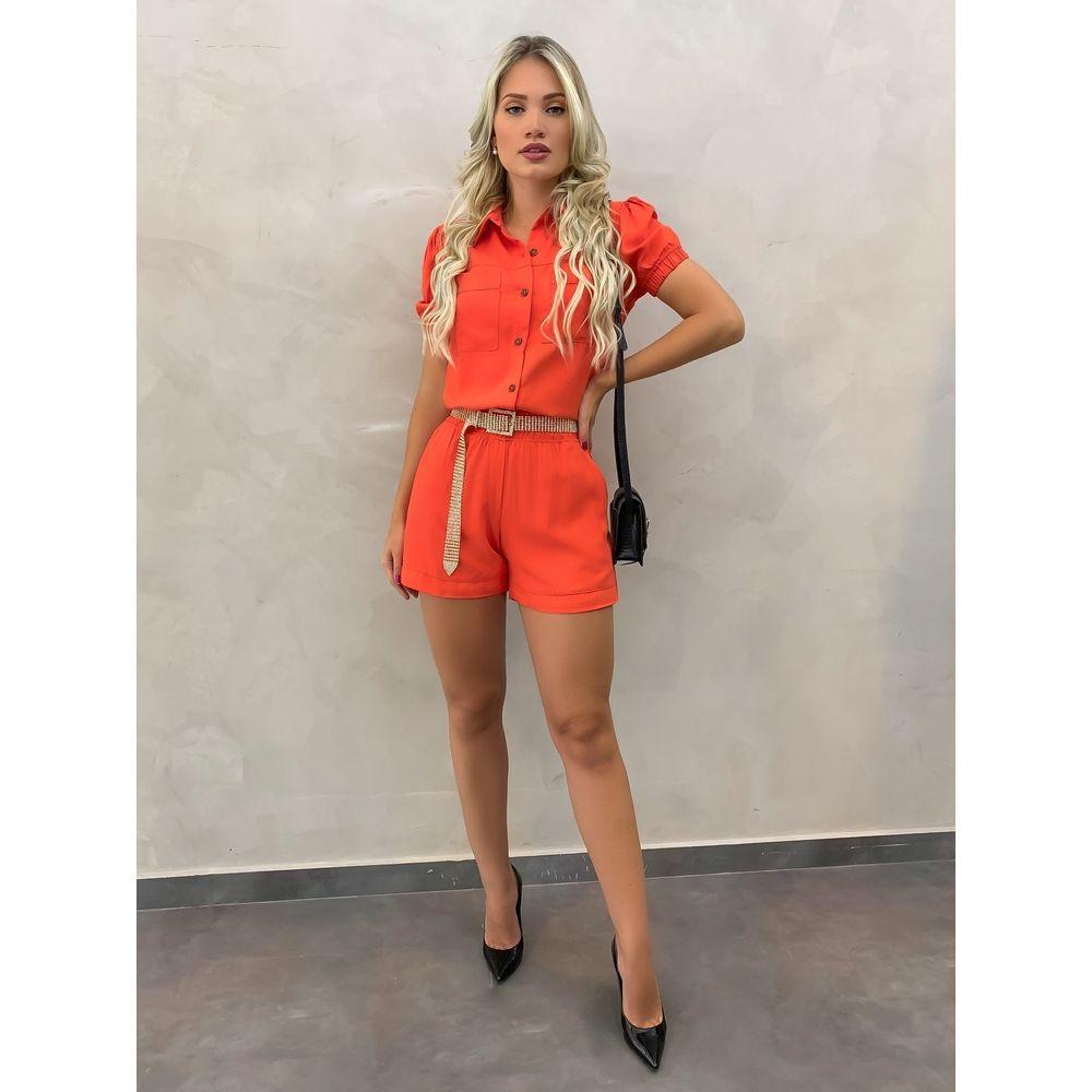 Shorts-Luana-Laranja