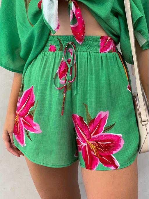 Shorts-Floral-Lirio-Farm