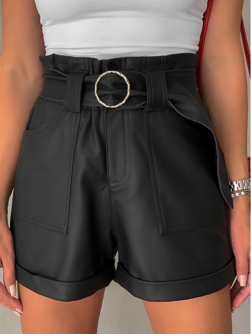 Shorts-Clochard-Couro-Eco-Lia
