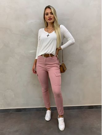 Calca-Skinny-Cargo-Rose