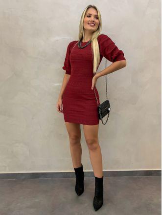 Vestido-Tricot-Rendado-Marilyn