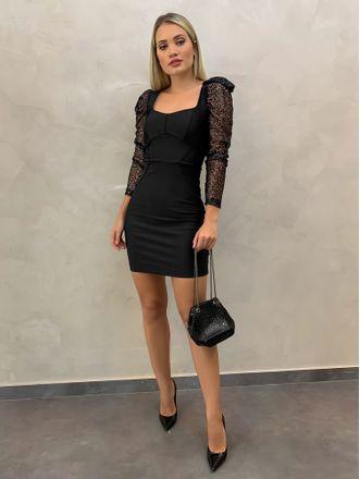 Vestido-Mangas-Bianca-Black