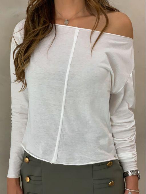 T-shirt-Lilian-Off-White