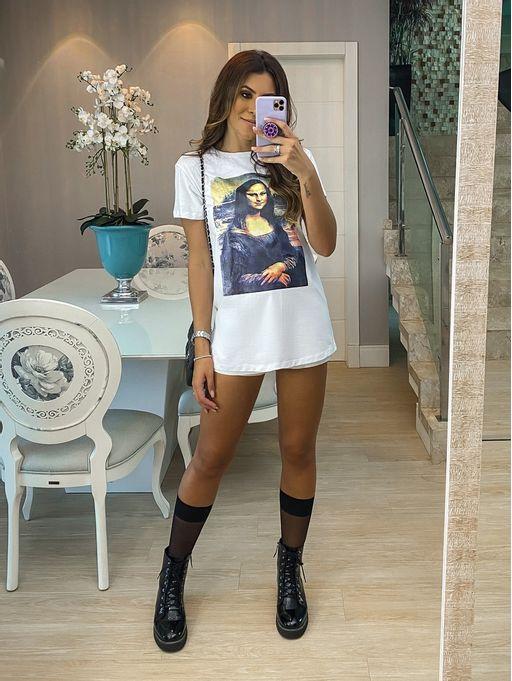 T-shirt-Monalisa-Branca
