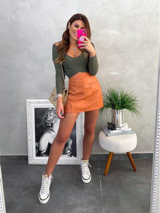 Shorts-Elisabeth-Caramelo