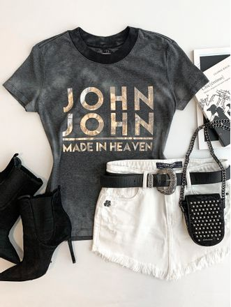 T-shirt-jj-Heat-Grey-John-John