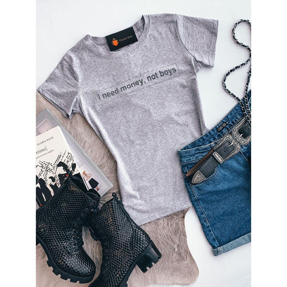 T-shirt-i-Need-Money-Mescla