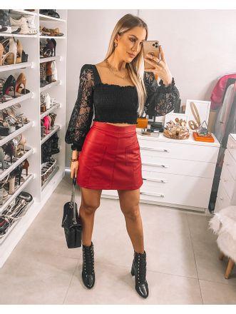 Shorts-Elisabeth-Vermelho
