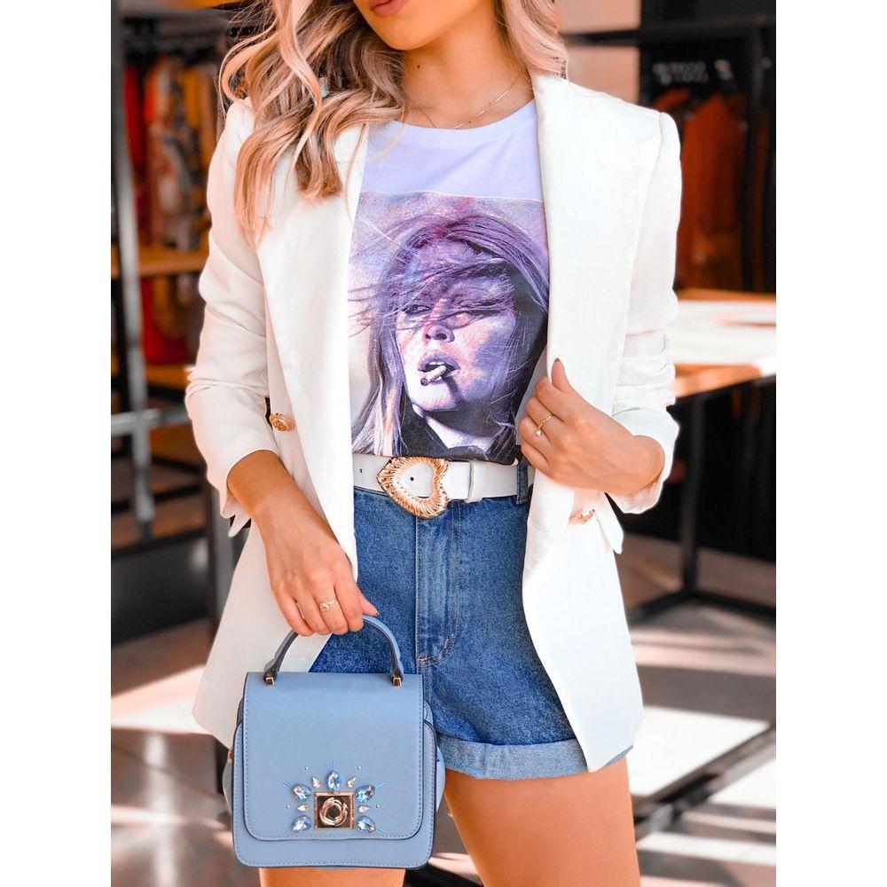 T-shirt-Mulher-Branca