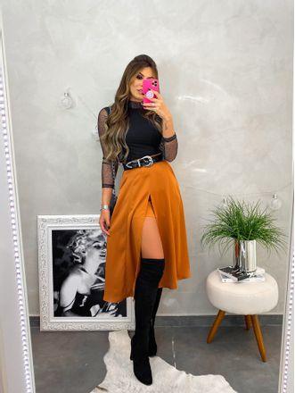 Shorts-Saia-Thamires-Caramelo
