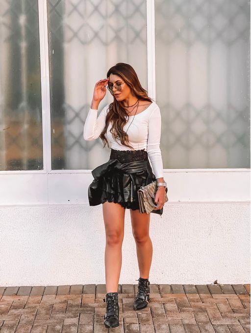 Shorts-Saia-Chiffon-Angela-Black
