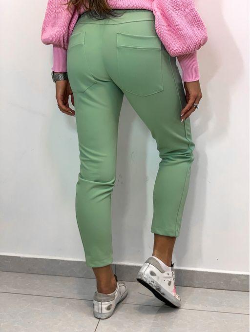 Calca-Sport-Lisa-Verde