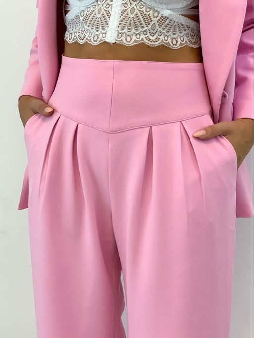 Calca-Alfaiataria-Pantalona-Donna-Rosa