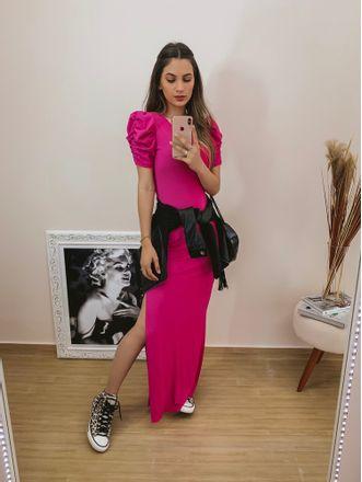 Vestido-Longo-Allure-Chiclete