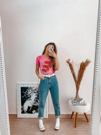 T-shirt-Gumme-Rosa
