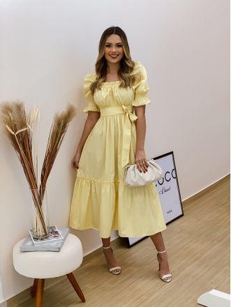 Vestido-Midi-Xadrez-Bianca