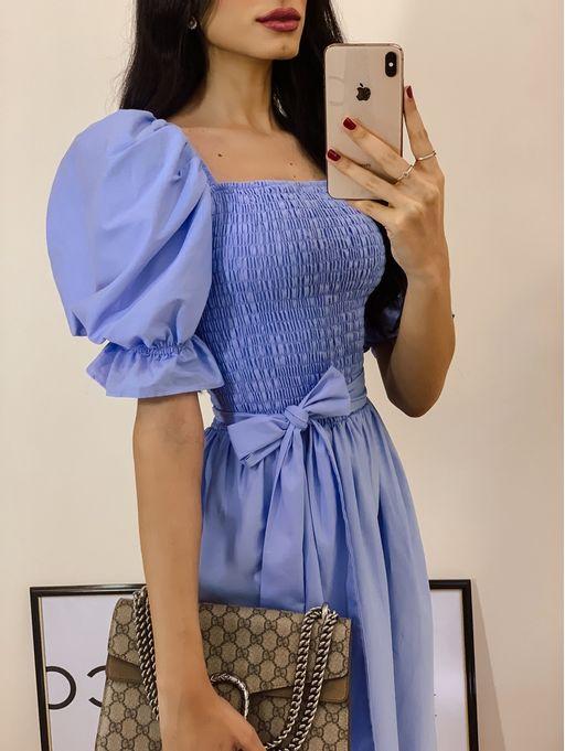 Vestido-Tricoline-Com-Elastex-Luiza-Azul