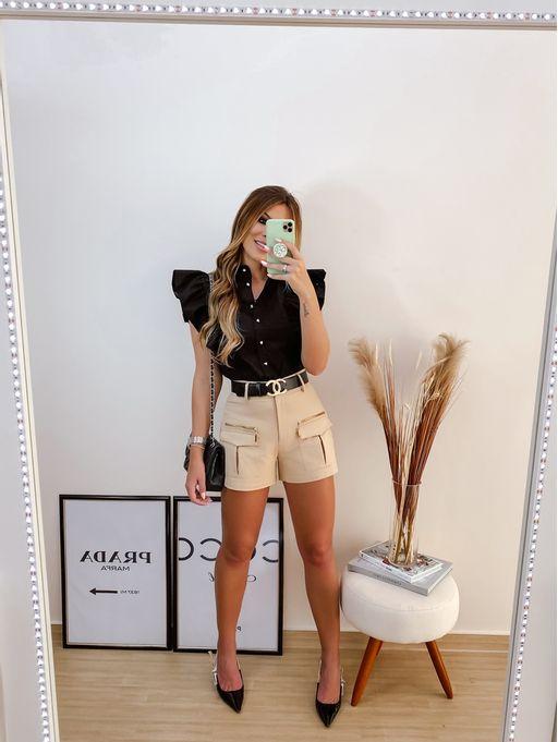 Shorts-Evaze-Alfaiataria-Amelia-Bege