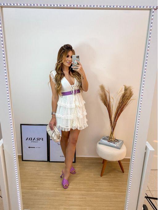 Vestido-Tule-Poa-Plissado-Maite