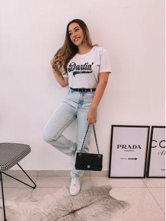 T-Shirt-Darling-Branca-Julia
