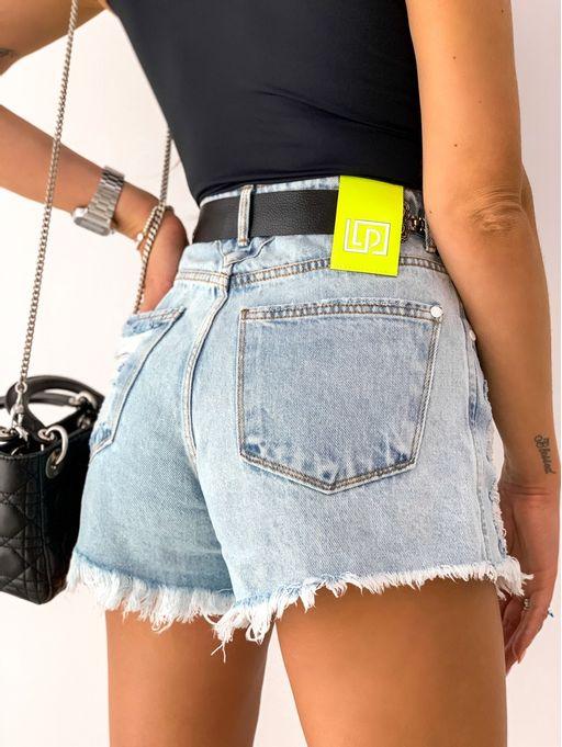 Shorts-Slim-Comfort-Super-High-Jeans