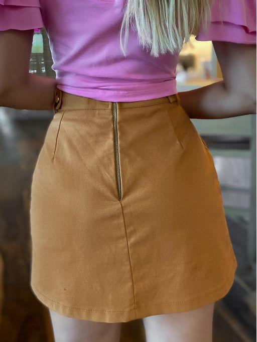 Shorts-Saia-Muriel-Caramelo
