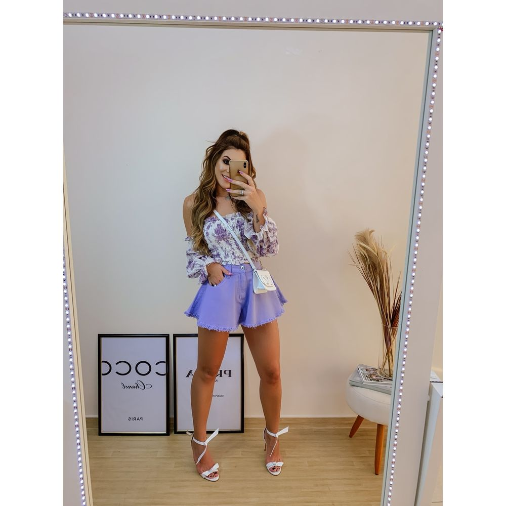 Shorts-Alto-Sabrina-Lilas