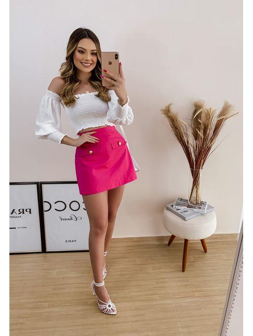 Shorts-Saia-Amalia-Pink