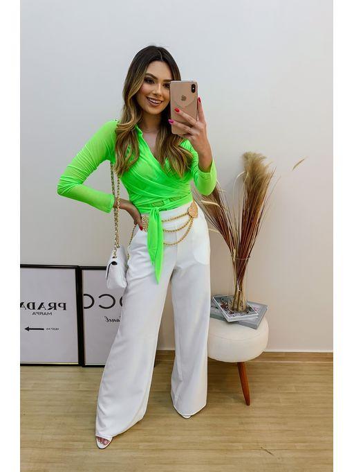 Cropped-Chiffon-Camisa-Com-Amarracao-Verde