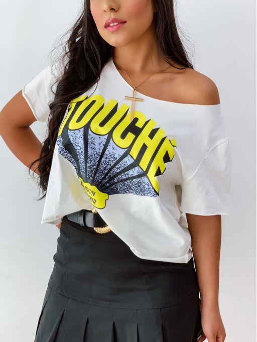 T-Shirt-Touche-Off-White