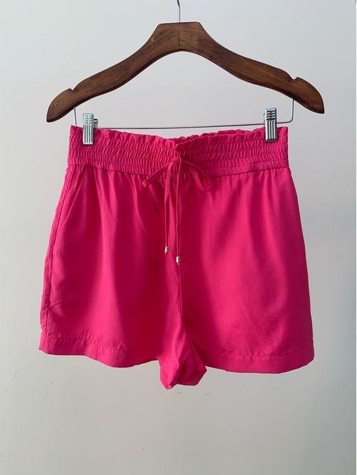 Shorts-Lyocel-Fernanda-Fucsia