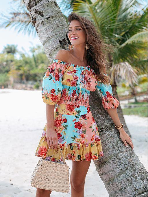 Shorts-Saia-Mayla-Floral-Aline-Mezzari-Brand