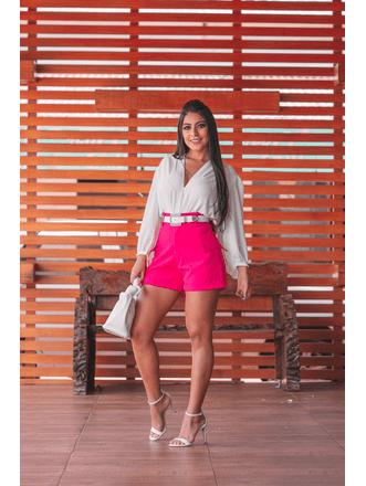Shorts-Isis-Alfaiataria-Tibi-Com-Bolsos-Laterais-Pink