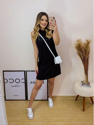 Vestido-Curto-Colcci-Black