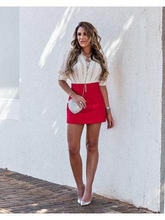 Shorts-Saia-Lilyan-Curto-Com-Botoes-Vermelho