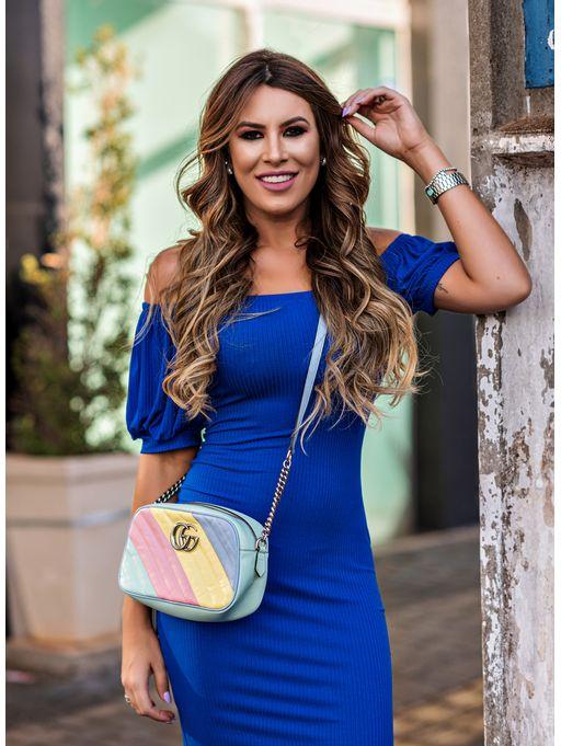 Vestido-Curto-Canelado-Azul-Ultra-Blue-Colcci