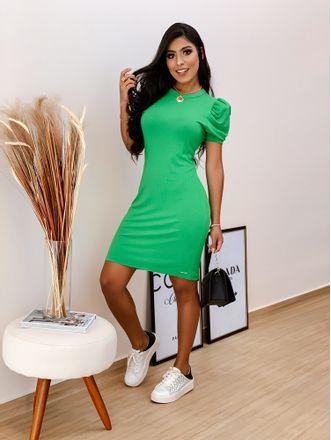 Vestido-Curto-Canelado-Verde-Crestela-Colcci