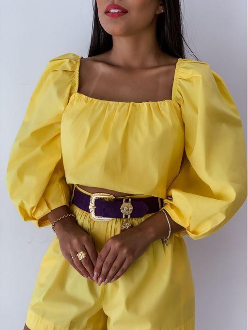 Cropped-Ciganinha-Anna-Amarelo