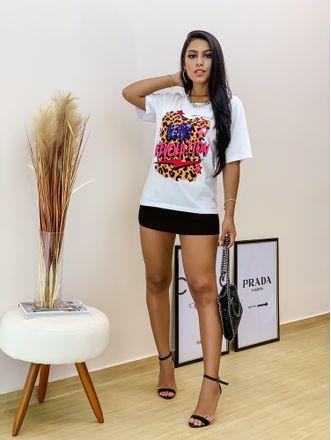 T-Shirt-Love-Revolution-Branca