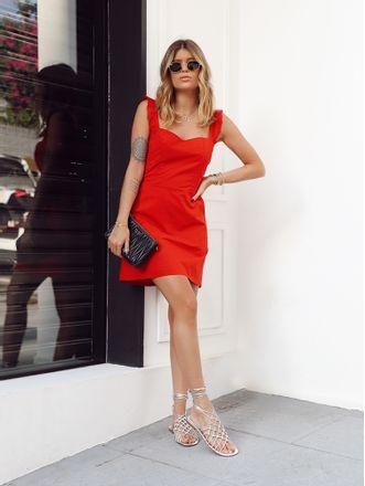 Vestido-Marjory-Vermelho-Com-Alca-Tricoline