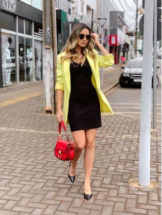Blazer-Long-Line-Amarelo
