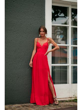 Vestido-Alcione-Vermelho-Crepe-Com-Fenda
