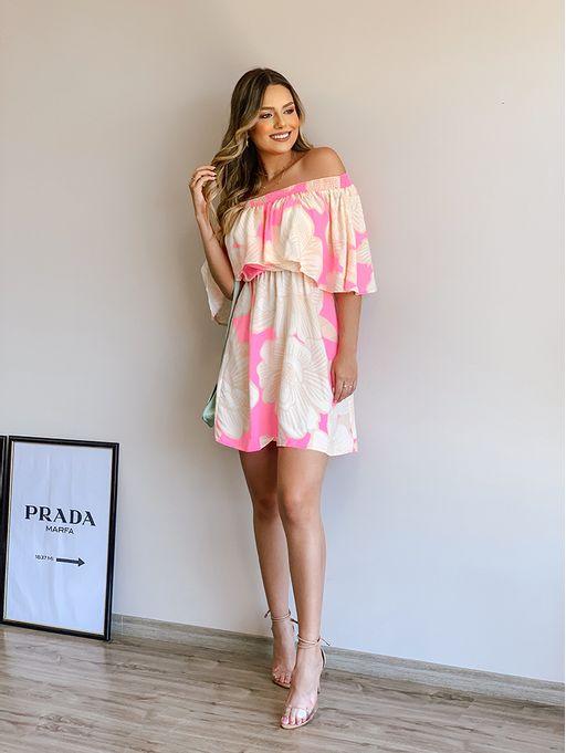 Vestido-Curto-Floral-Praiano-Farm