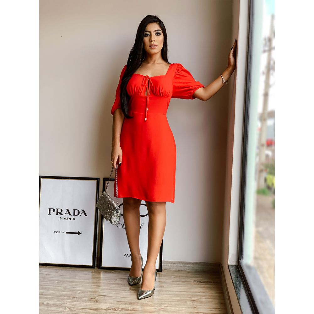 Vestido-Curto-Karine-Colcci-Vermelho