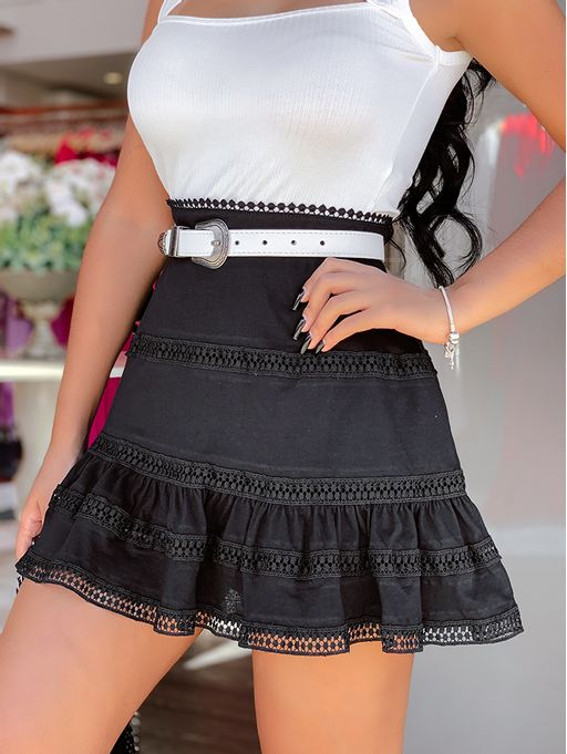 Shorts-Saia-Greice-Preto