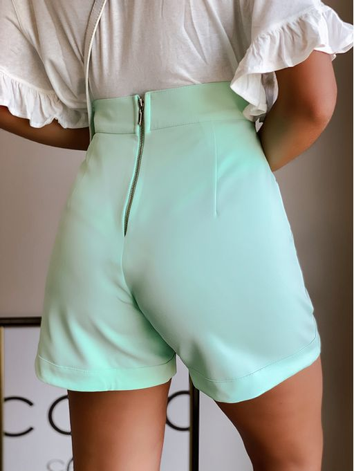 Shorts-Rochelly-Verde-Com-Botoes-E-Bolso-Tibi
